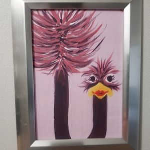 Framed painting by J Neal